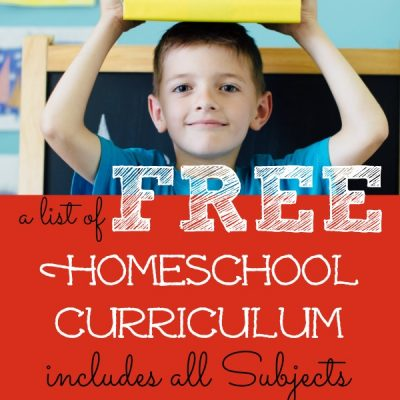 The Full List of Free Homeschool Curriculum that will Excite your Child