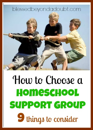 how to choose a homeschool support group - 9 Steps!