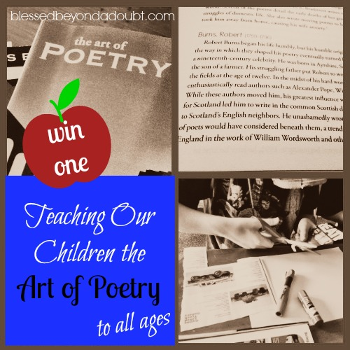 Teaching the Art of Poetry