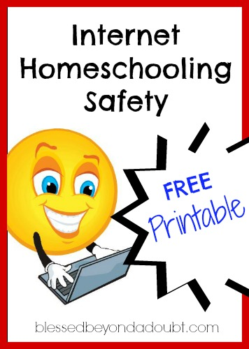 FREE Internet Homeschooling Safety Rules