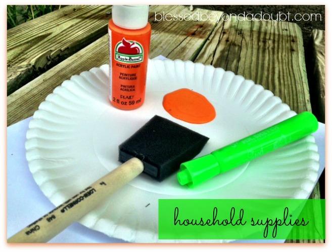 handprint pumpkin patch supplies