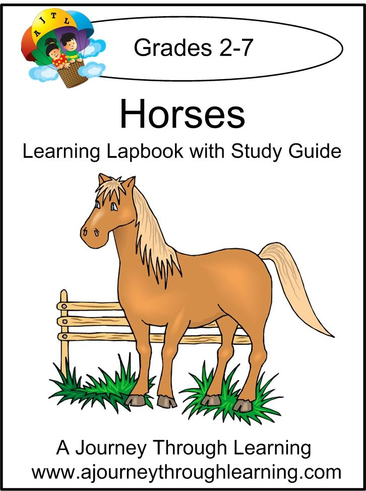 FREE Lapbook and Study Guide – Horses
