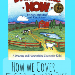 Learn how we successfully cover 5 subjects with Draw Write Now! Be sure to grab the free printables.