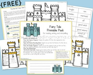FREE Fairy Tale Printable Pack