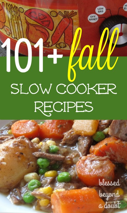 TOP 101 Easy Fall Crock Pot Recipes!