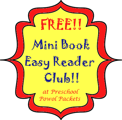 free mini book easy reader club sign