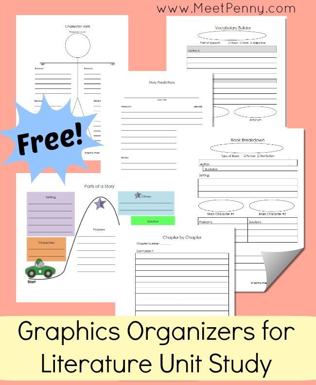 Reading Graphic Organizers and Printables - Mariely Sanchez