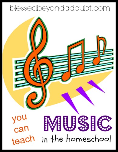 You can teach homeschool music with this homeschool music curriculum