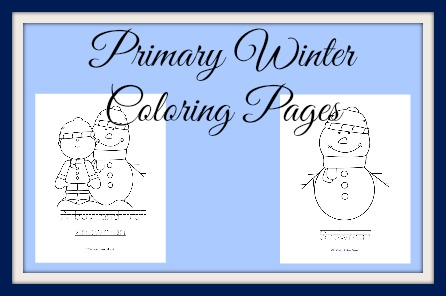 Primary Coloring samples