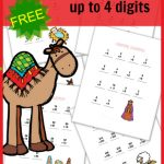 FUN Nativity Addition Worksheets