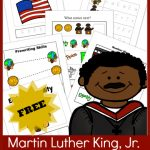 FREE Martin Luther King, Jr. Printable Pack – PreK and K!