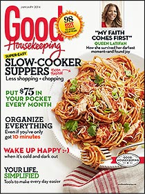 Good Housekeeping Magazine is only 4.99 for 1 year!