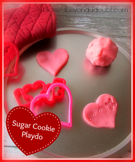 Sugar Cookie - How to Make Playdo