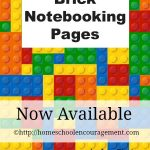Brick Notebooking Pages