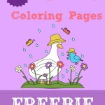 FREE Spring Coloring Pages! Over 80 + to choose from.