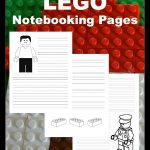 Free Lego Notebooking Pages
