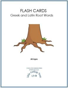 Greek and Latin Flashcards