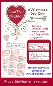LoveYourNeighbor unit study