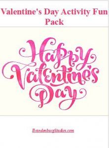 Valentine's Day Activity Fun Pack