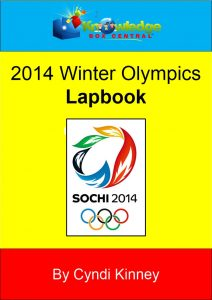 Winter Olympics 2014 Lapbook