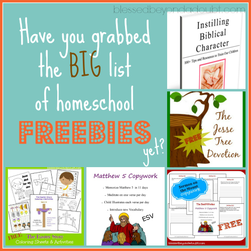 home school freebies galore