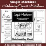 Free Simple Machines Notebooking Pages and Matchbooks