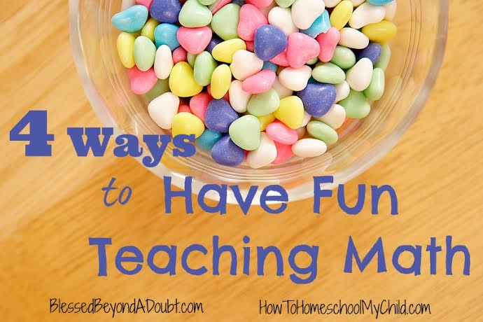 Have FUN with these creative math ideas!