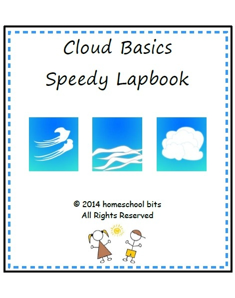 Cloud Basics Speedy Lapbook