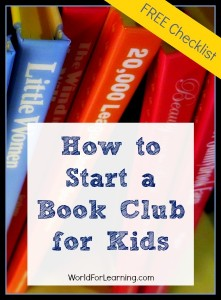 How to Start a Book Club for Kids [FREE Checklist]