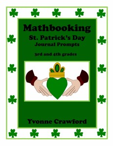 Mathbooking - St. Patrick's Day Journal