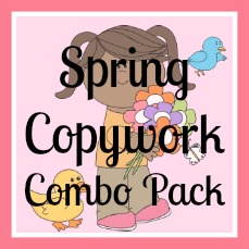 Spring-Copywork-Combo-Pack
