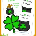 FREE St. Patrick's Day Play Dough Mats!