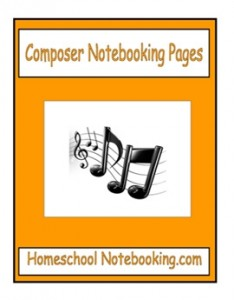 composer notebooking pages