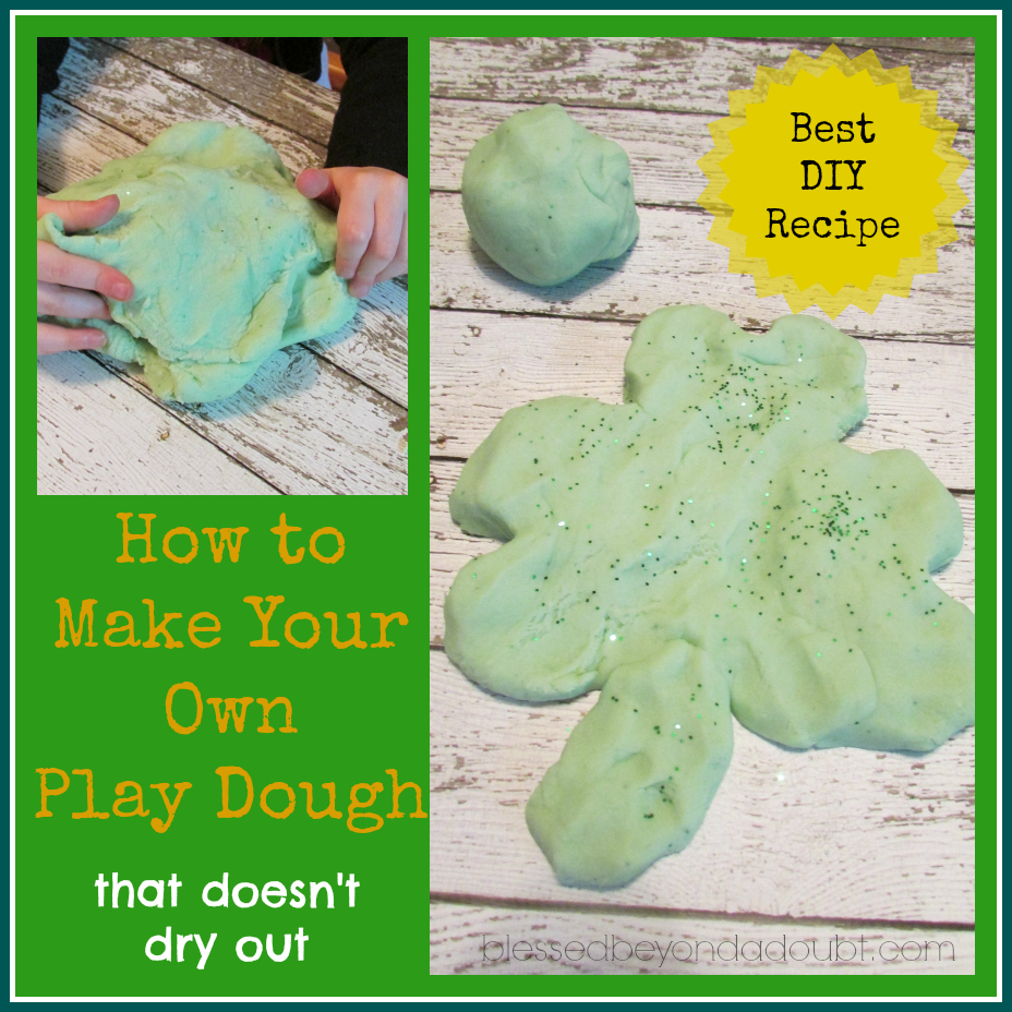 play doh that doesn't dry up