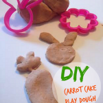 Carrot cake smelly play dough! My kids love playing with thise DIY recipe.