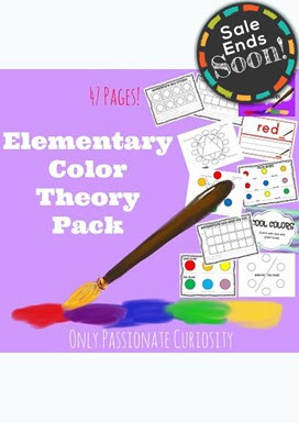FREE Elementary Art Color Theory! Hurry - only for a limited time!