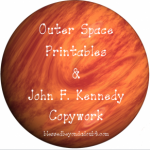 Oh my, an awesome list of John F Kennedy resources and copywork!