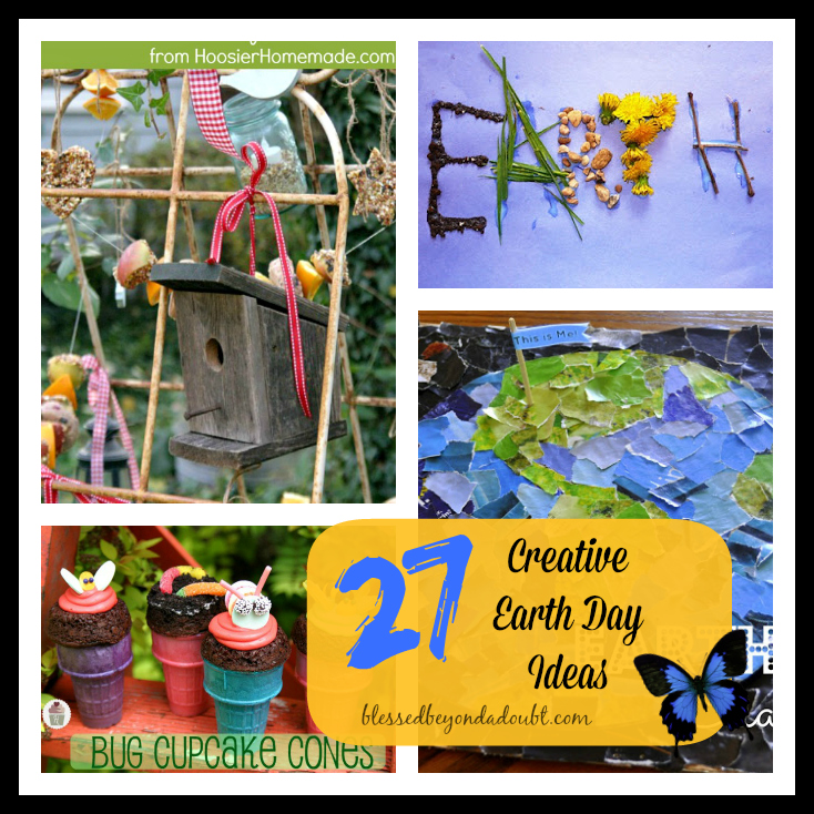 Start planning your family's Earth Day celebration with these Earth's Day Kids Activities!