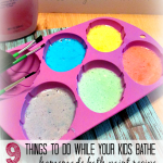 Homemade Bath Paint Recipe!