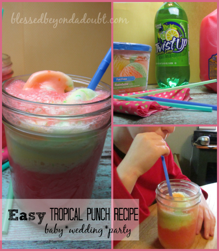 tropical punch recipe