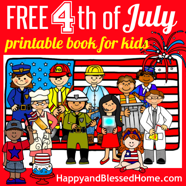 FREE 4th of July Printable Book