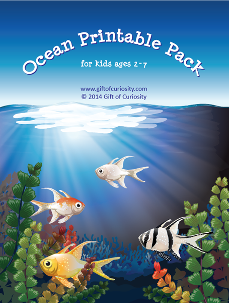 FREE Ocean-Printable-Pack for ages 2-7!