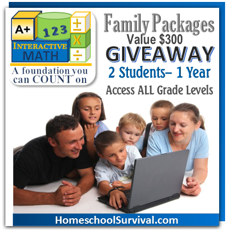 FREEbie - Get math for the summer! Family giveaway, too!