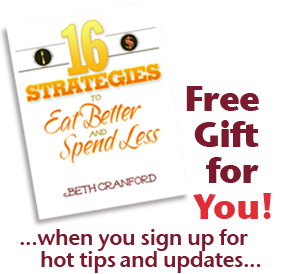 FREE eBook Eat Better & Spend Less