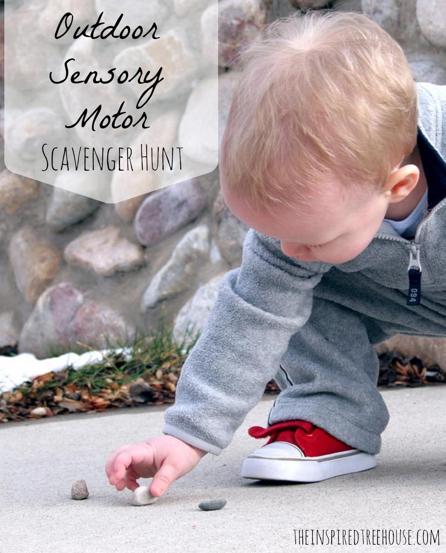 Sensory Motor Scavenger Hunt