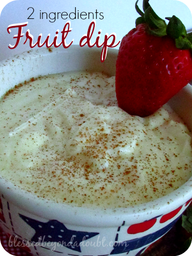 fruit dip cream cheese