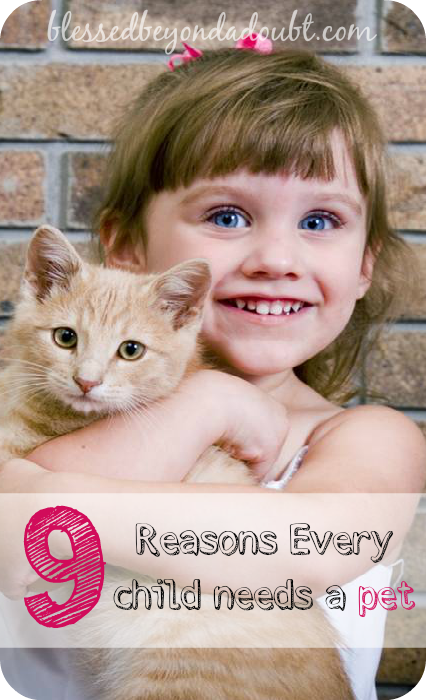 I grew up without any pets! Here are the 9 reasons you need to buy your child with a pet. Agree or Disagree?