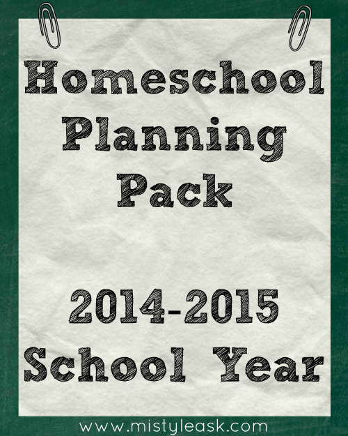 Start planning your homeschool year today!