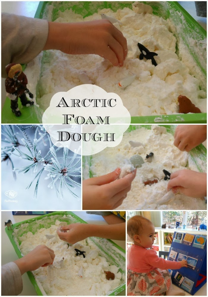 arctic foam dough