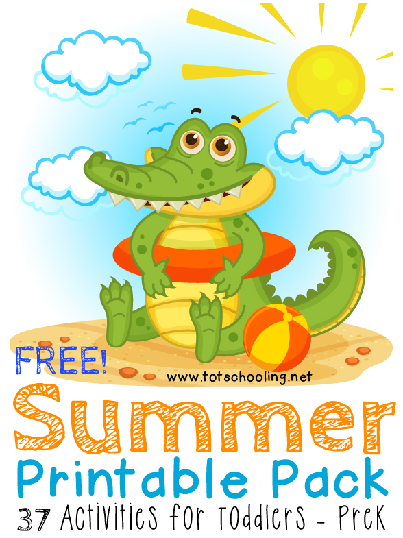 FREE Summer Printable Pack